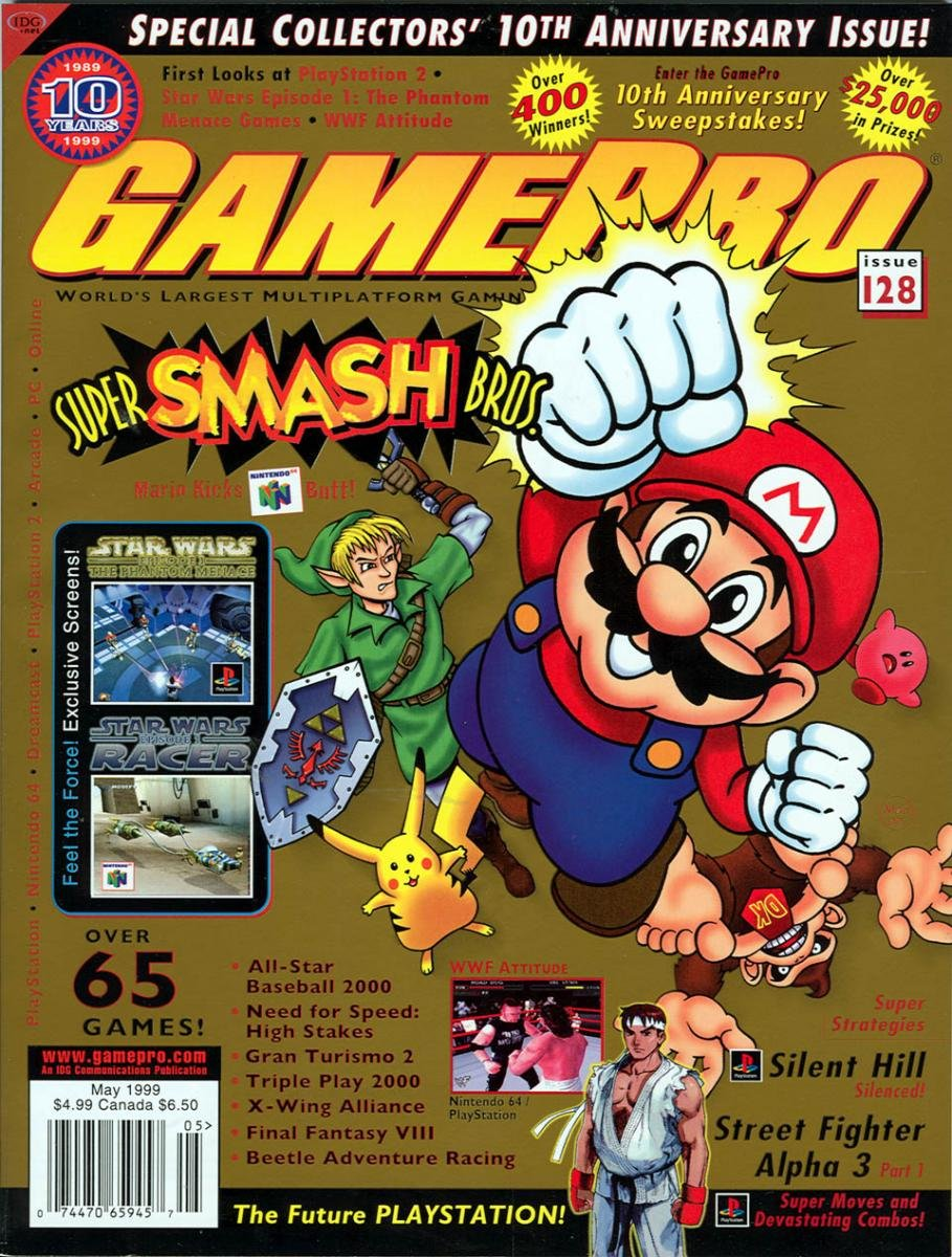 GamePro Issue 128 May 1999