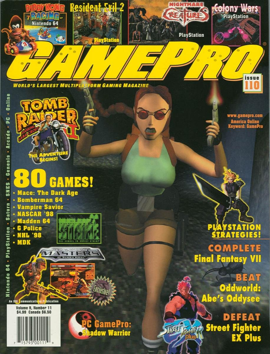 GamePro Issue 110 November 1997
