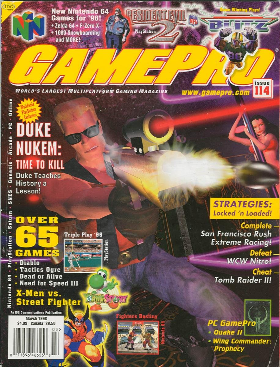 GamePro Issue 104 March 1998
