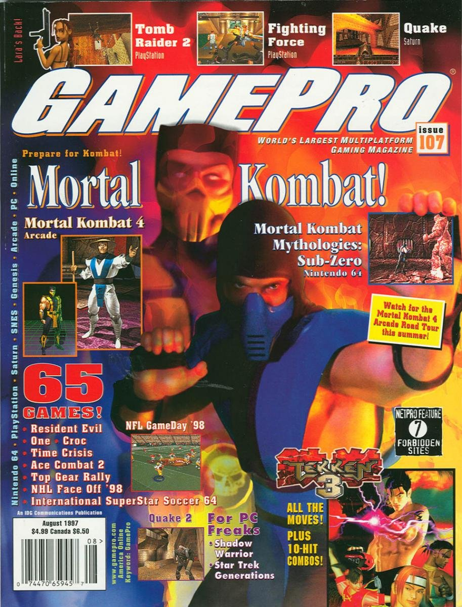 GamePro Issue 107 August 1997