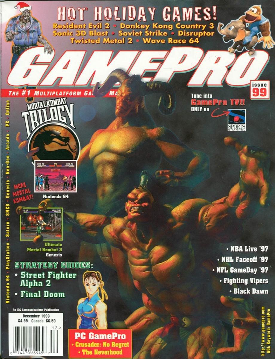 GamePro Issue 099 December 1996