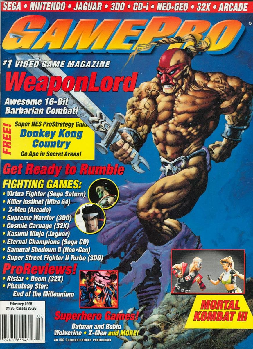 GamePro Issue 067 February 1995