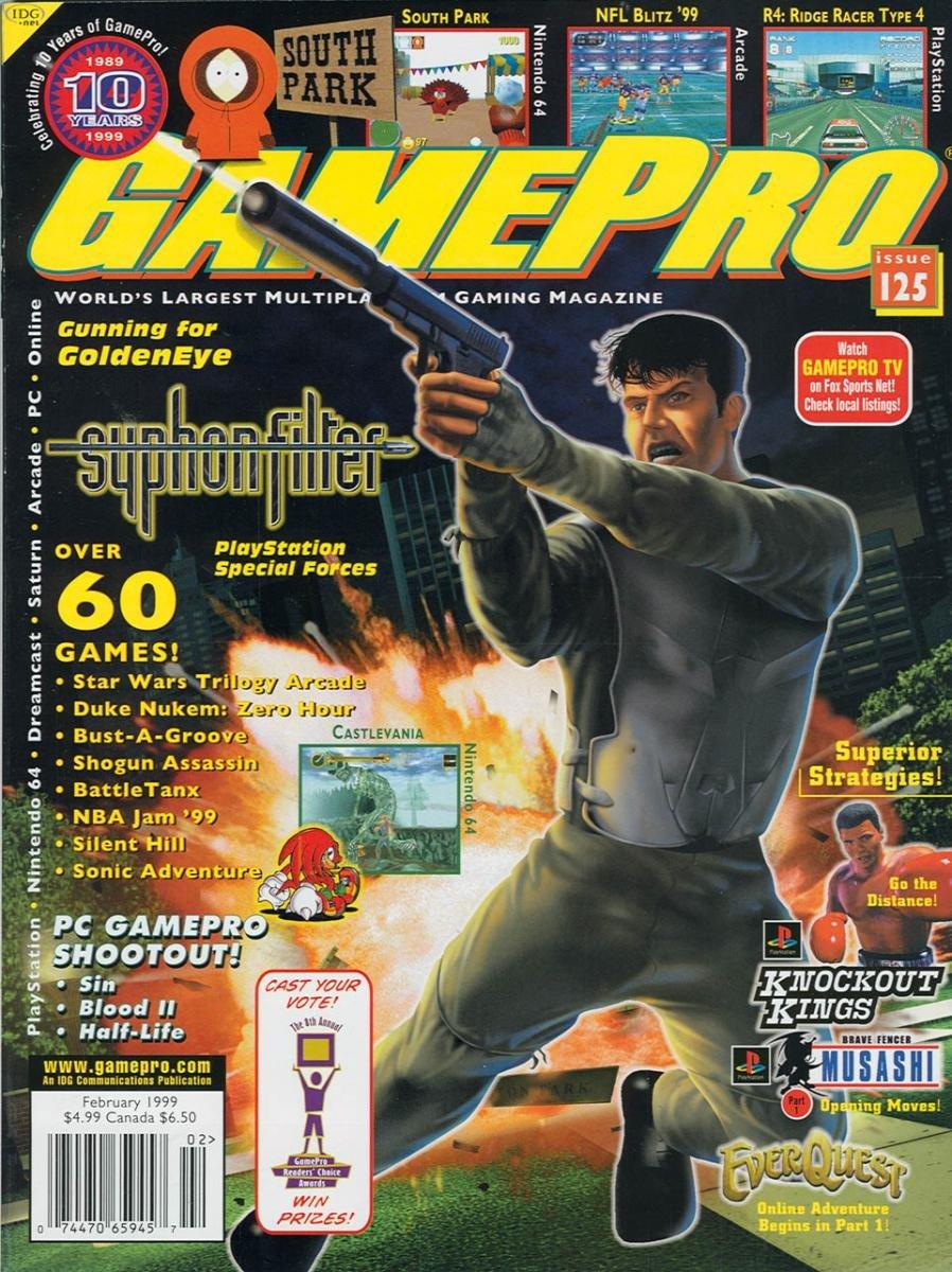 GamePro Issue 125 February 1999