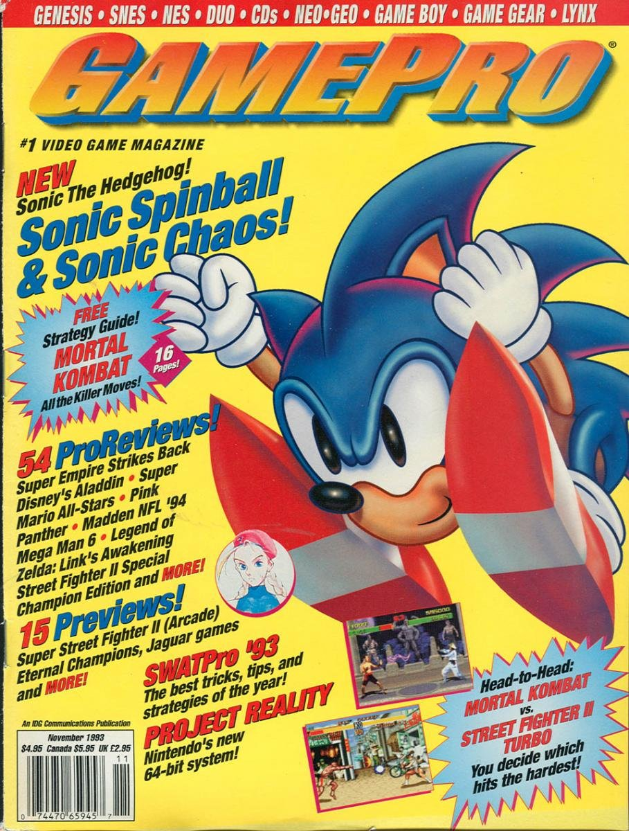 GamePro Issue 052 November 1993