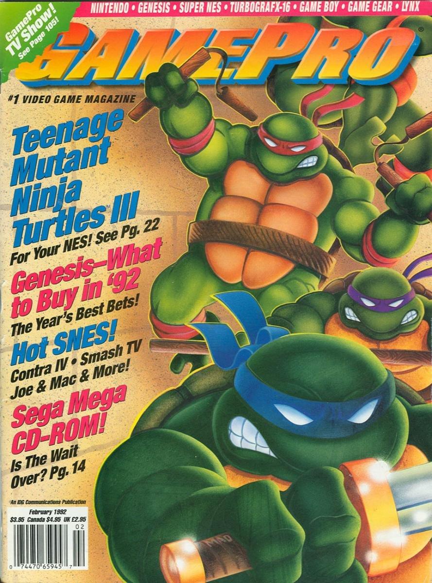GamePro Issue 031 February 1992