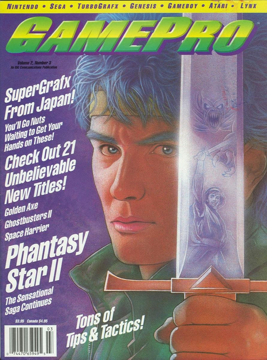 GamePro Issue 008 March 1990