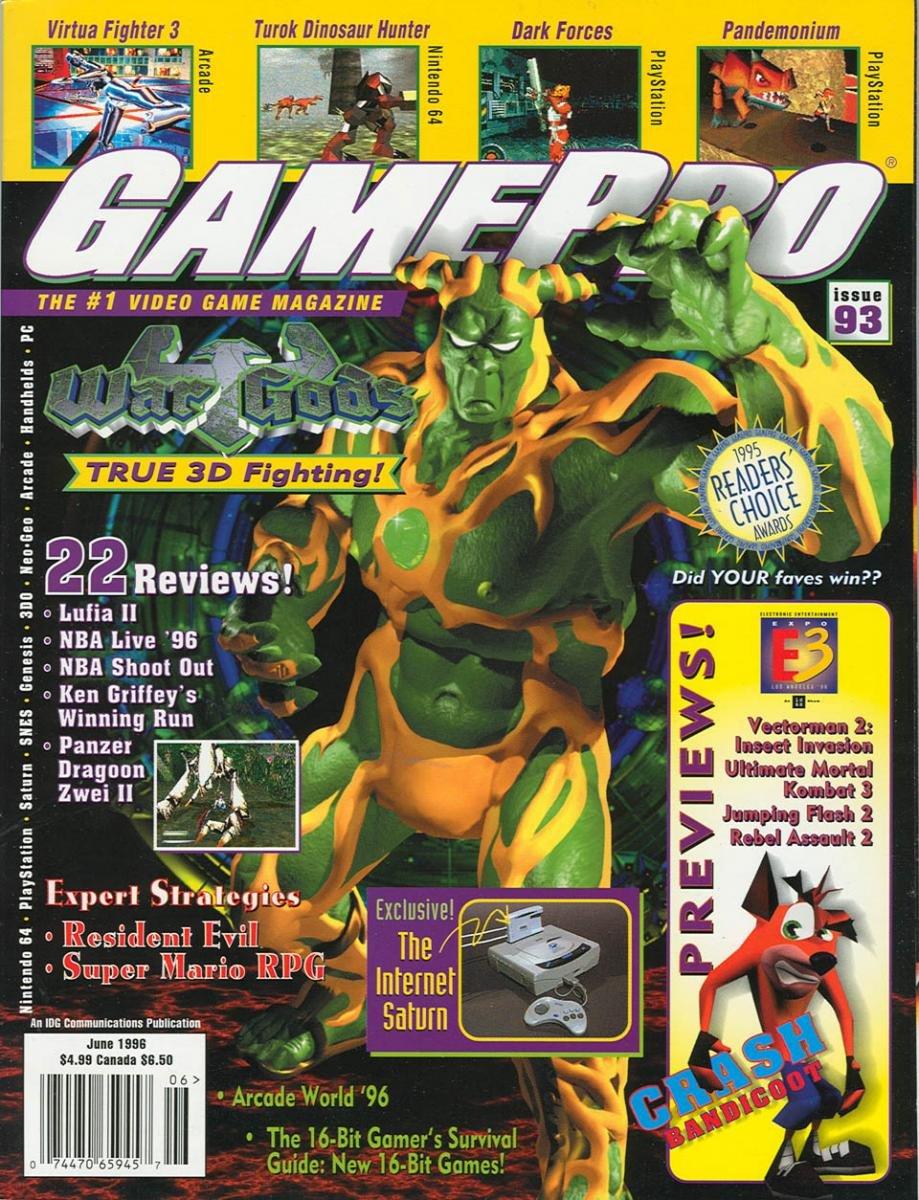 GamePro Issue 093 June 1996