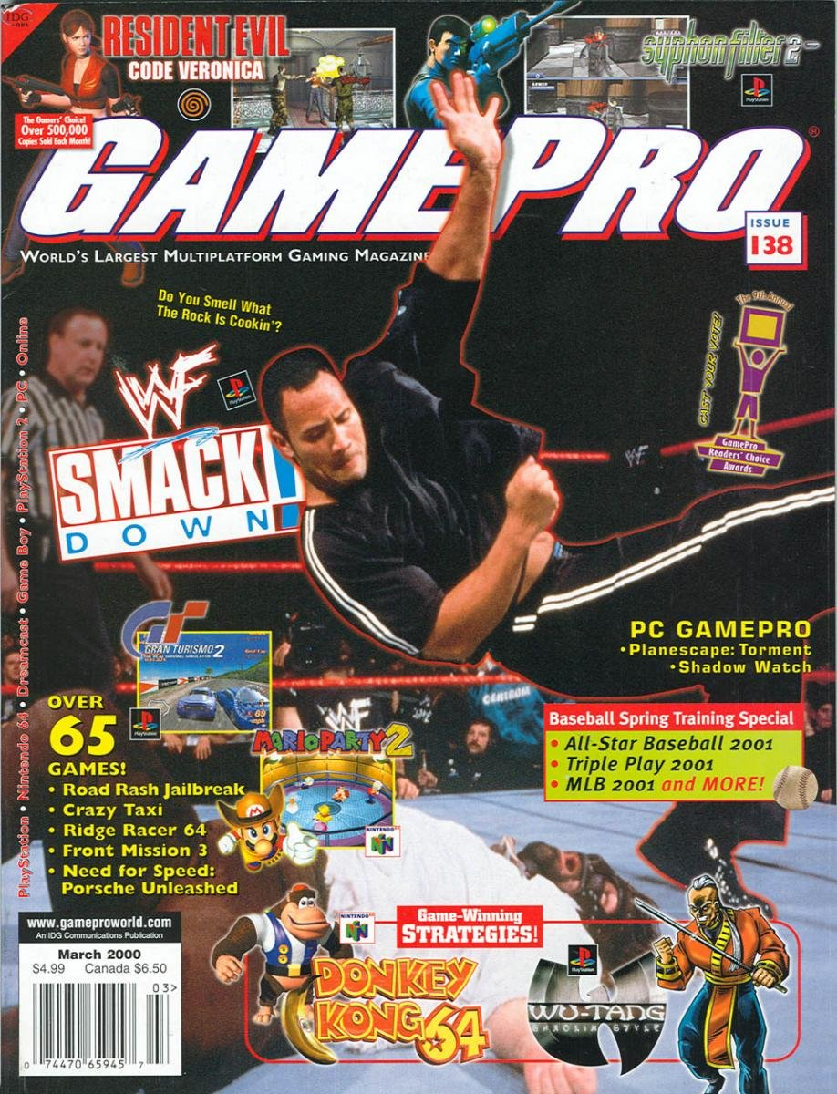 GamePro Issue 138 March 2000