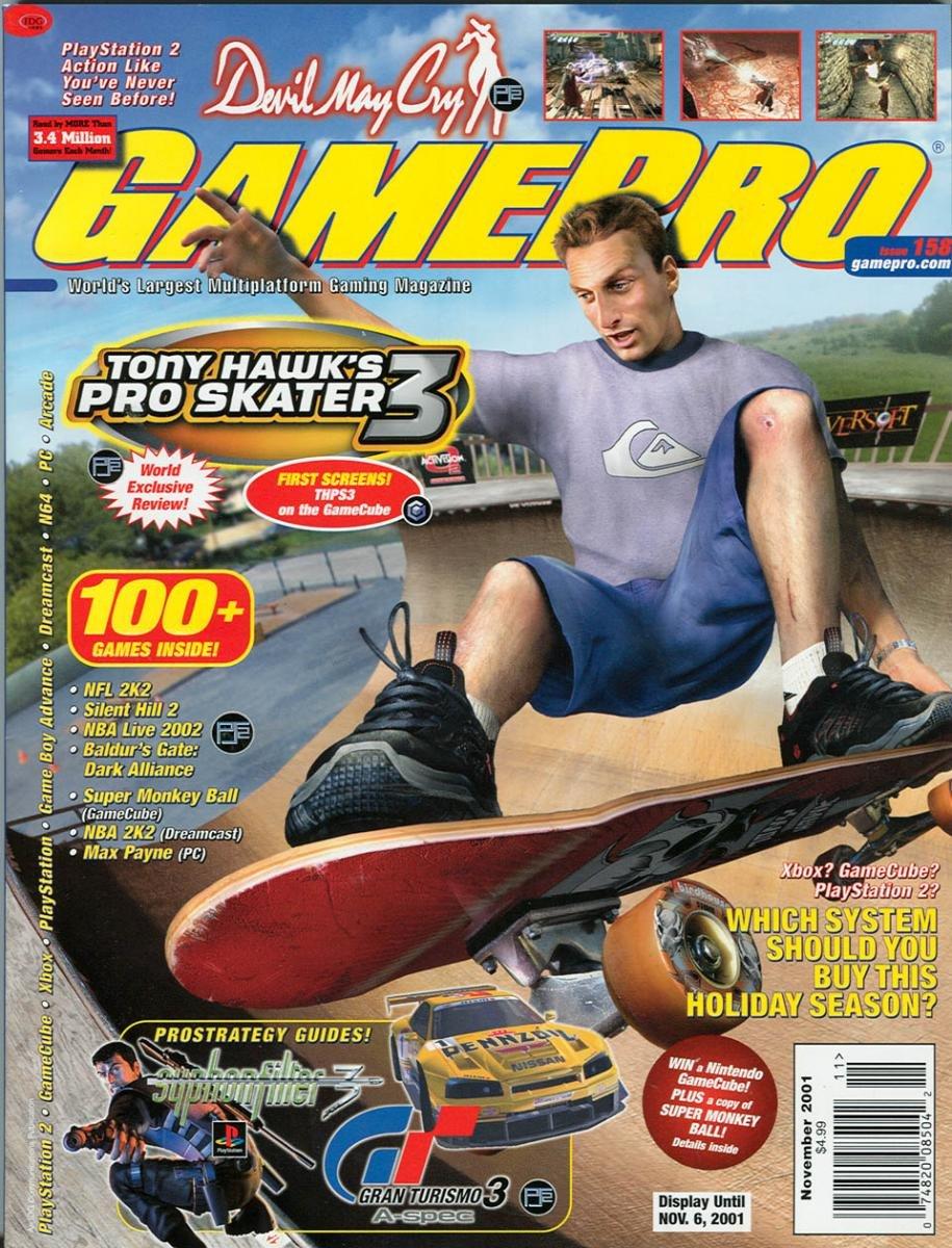 GamePro Issue 158 November 2001