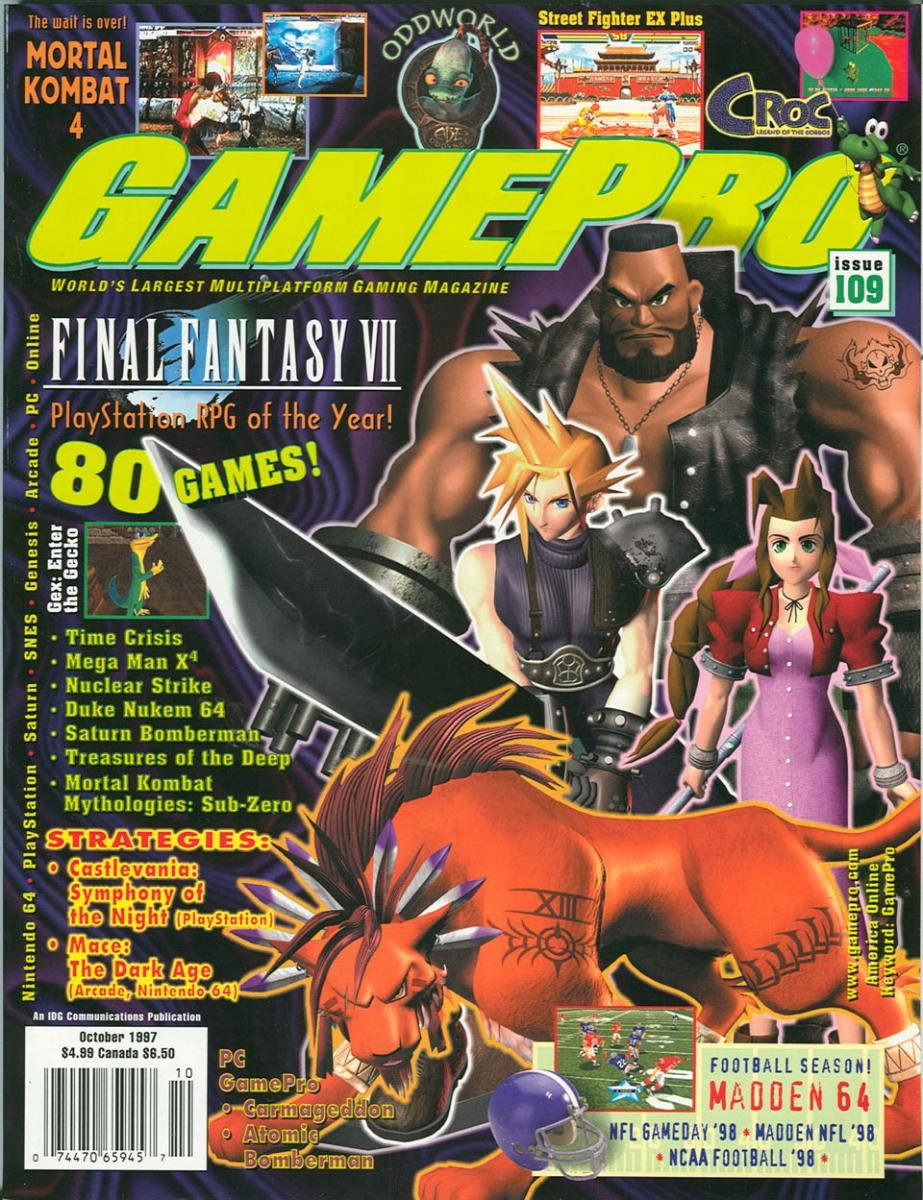 GamePro Issue 109 October 1997