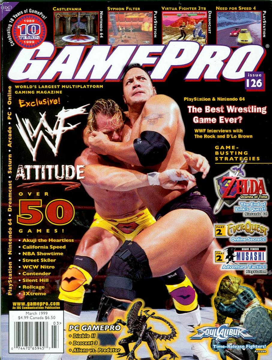 GamePro Issue 126 March 1999