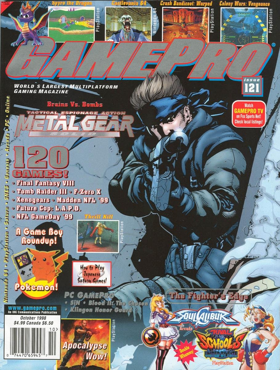 GamePro Issue 121 October 1998