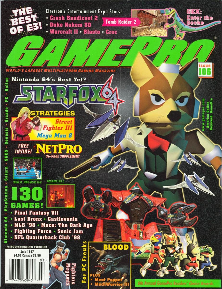 GamePro Issue 106 July 1997