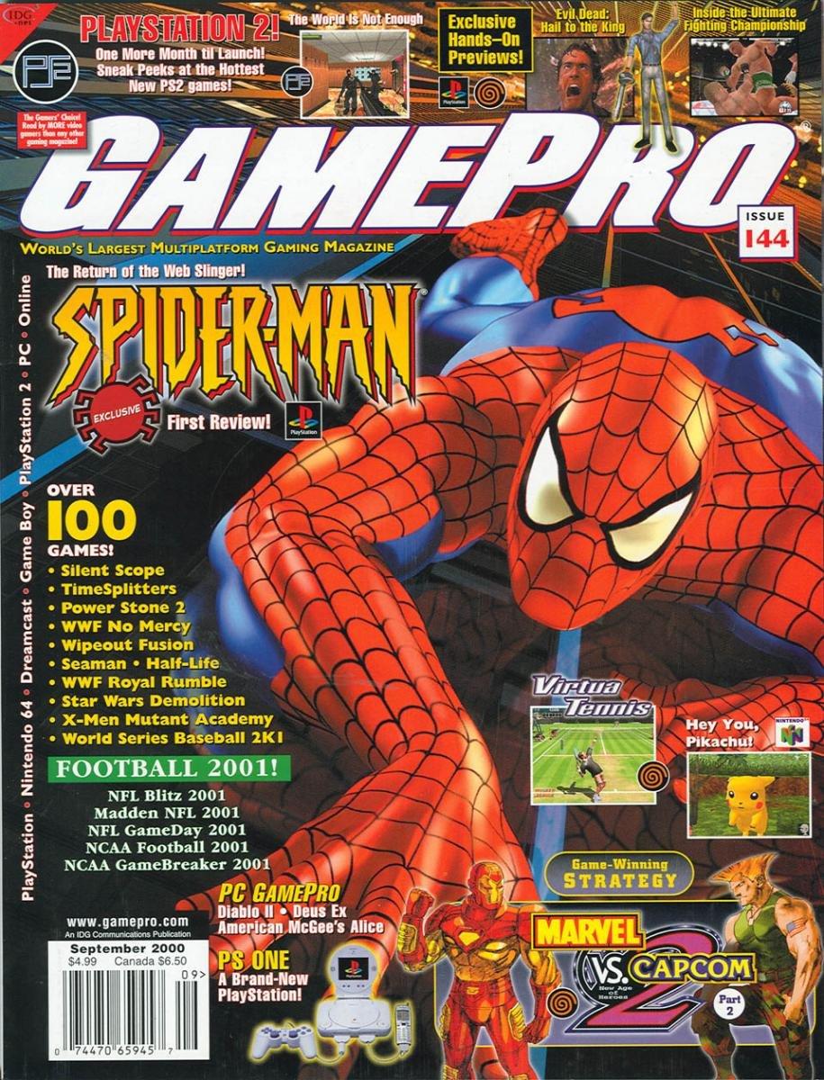 GamePro Issue 144 September 2000
