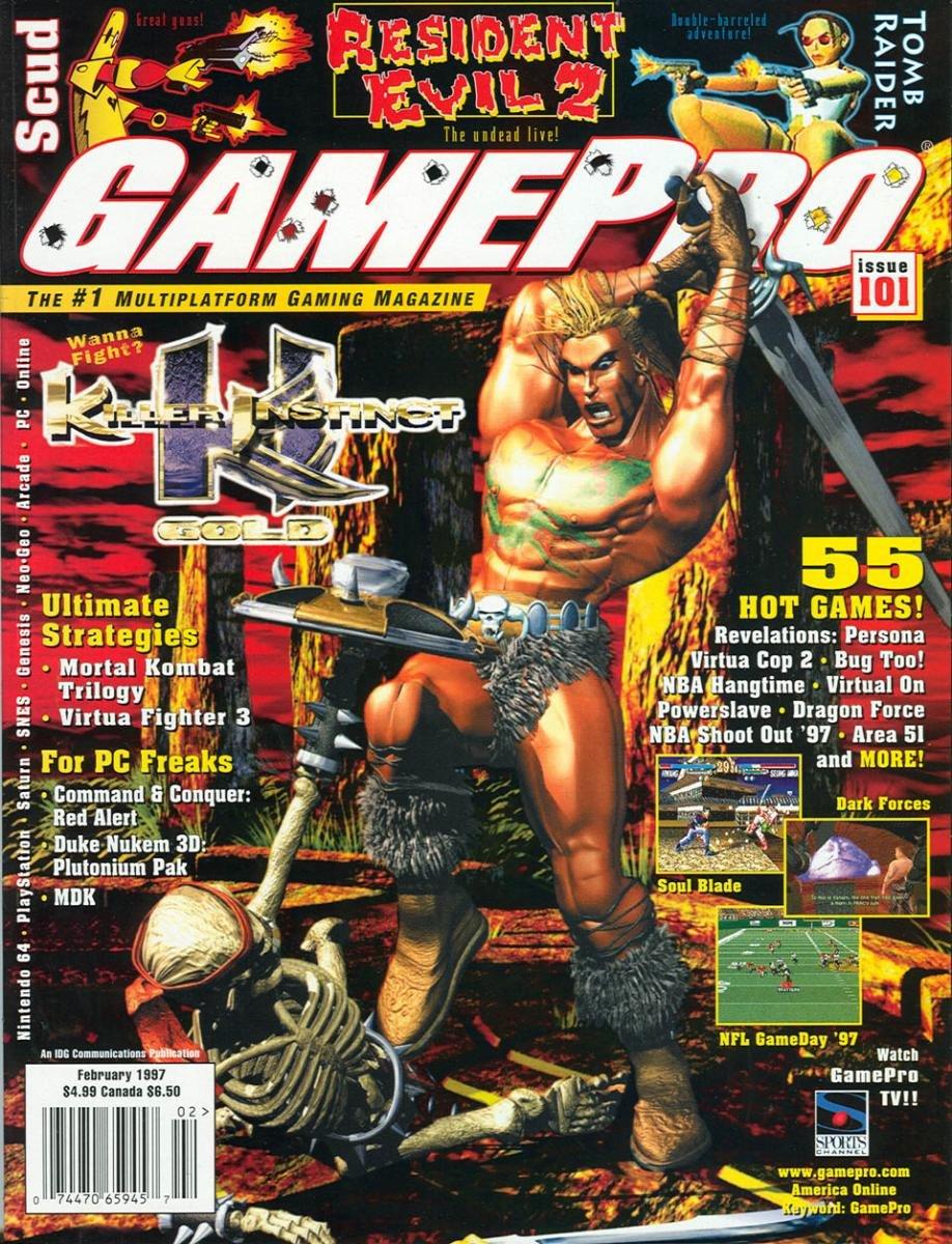 GamePro Issue 101 February 1997