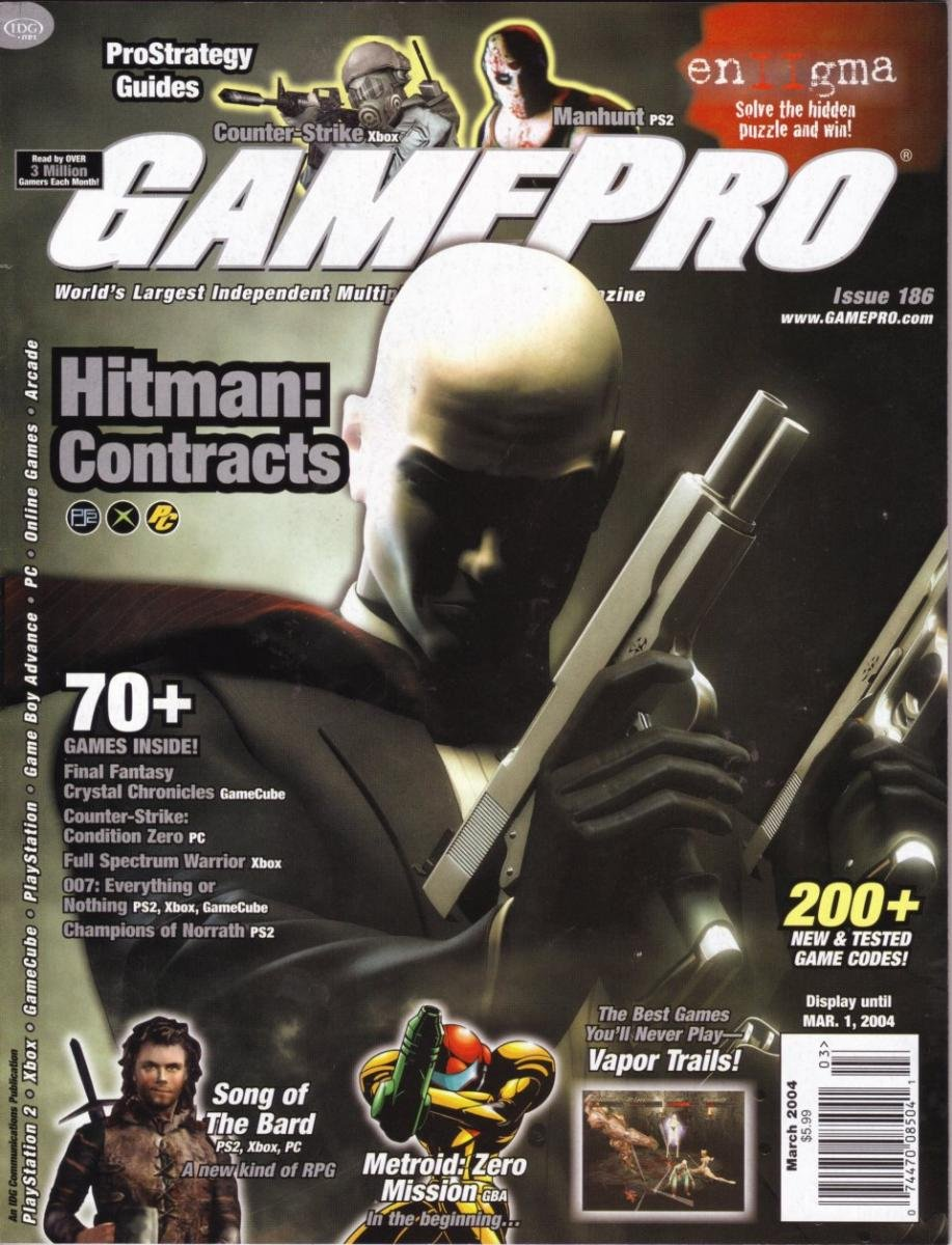 GamePro Issue 186 March 2004