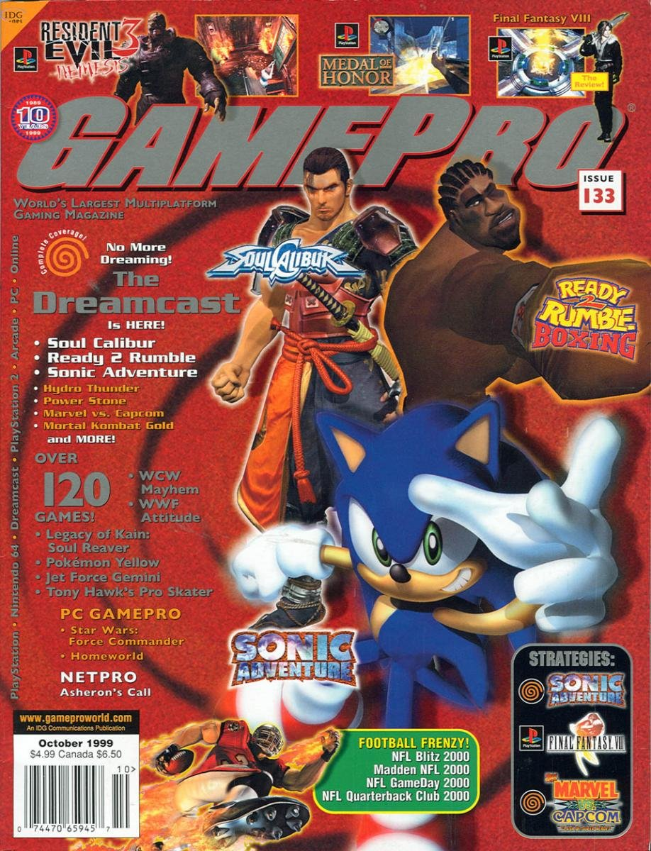 GamePro Issue 133 October 1999