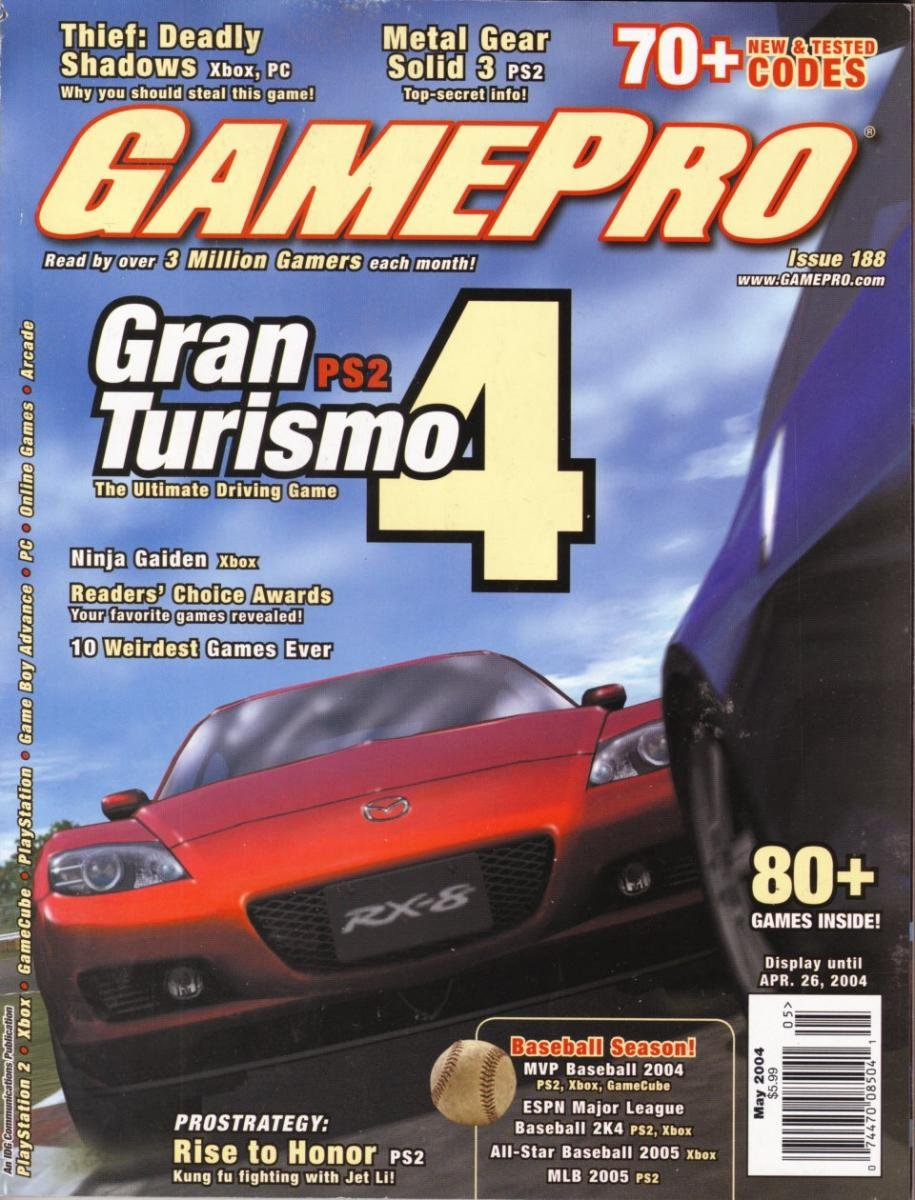 GamePro Issue 188 May 2004