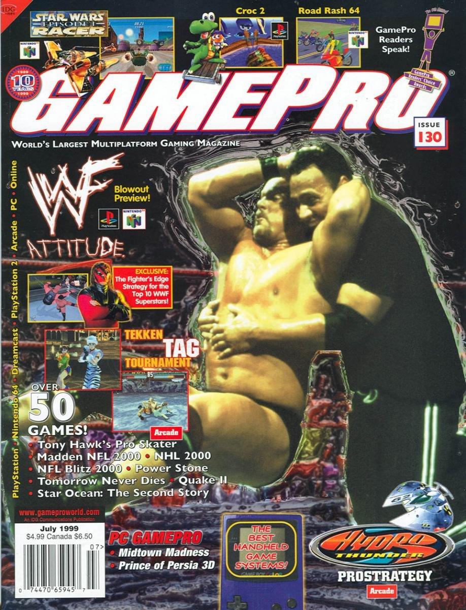 GamePro Issue 130 July 1999