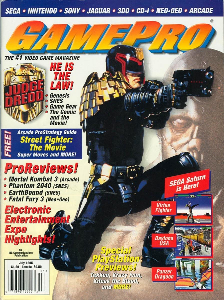 GamePro Issue 072 July 1995