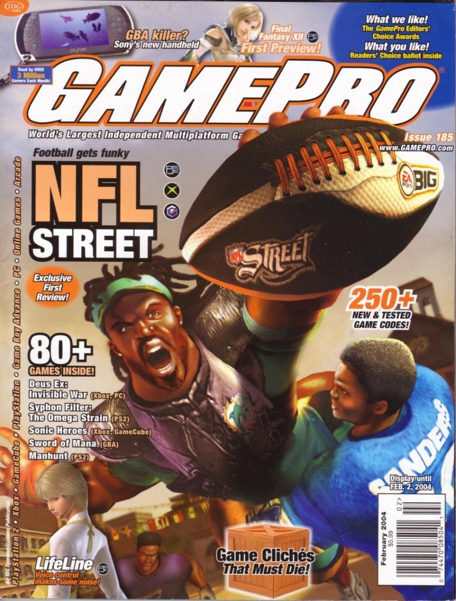 GamePro Issue 185 February 2004