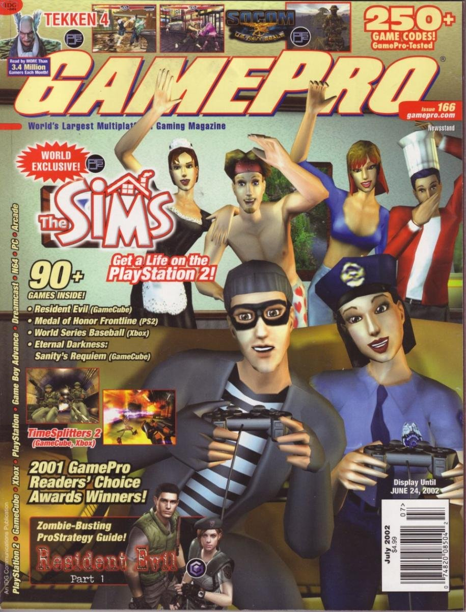 GamePro Issue 156 July 2002