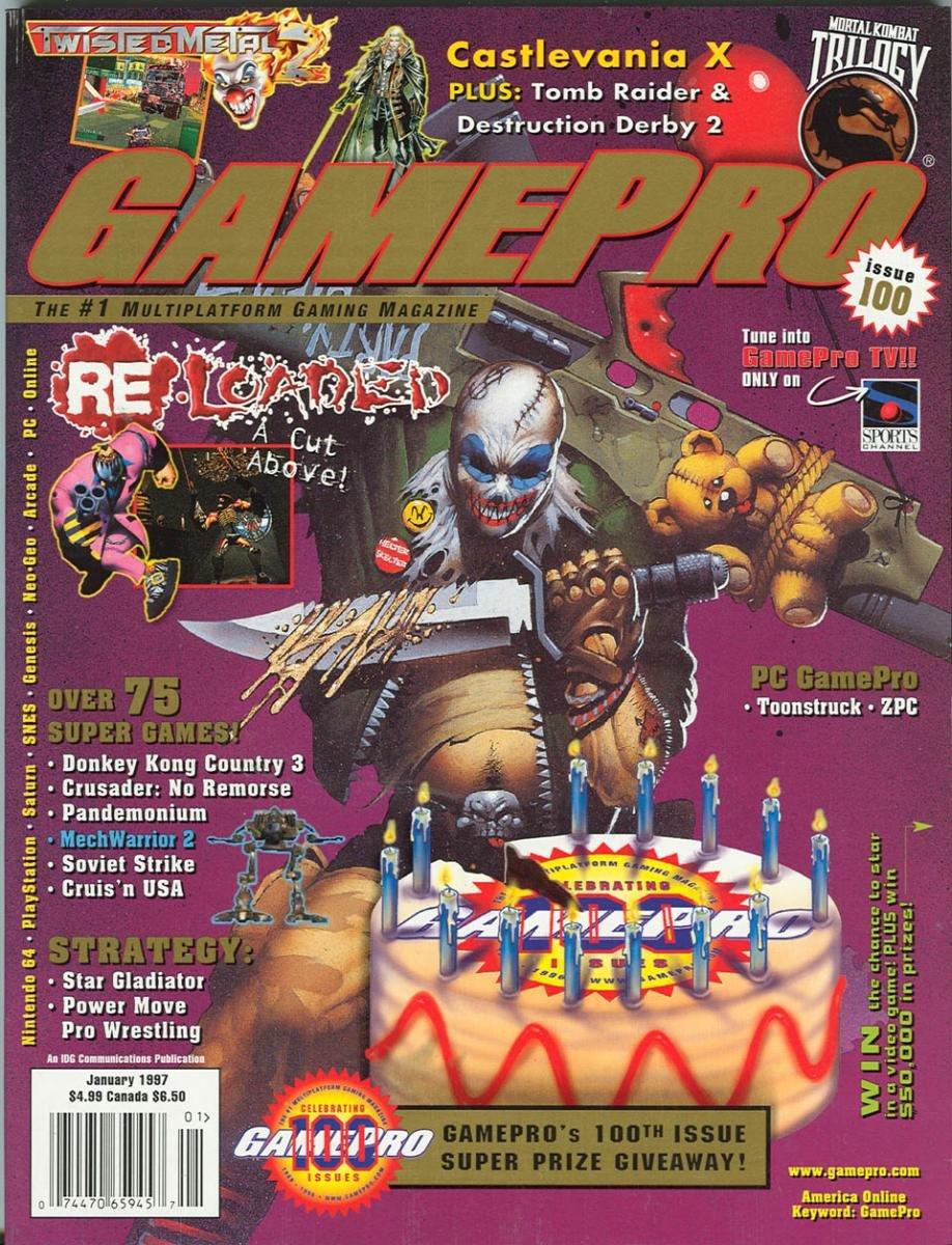 GamePro Issue 100 January 1997