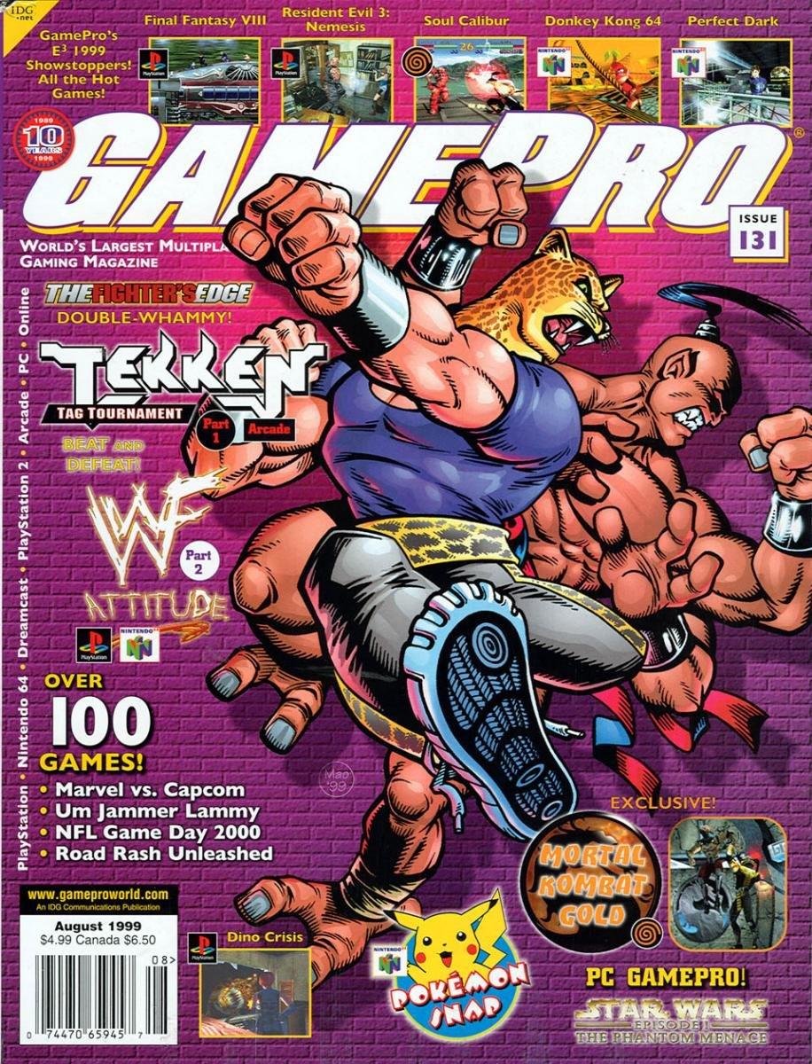 GamePro Issue 131 August 1999