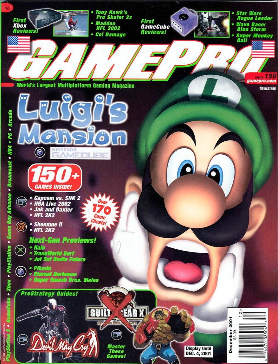 GamePro Issue 159 December 2001