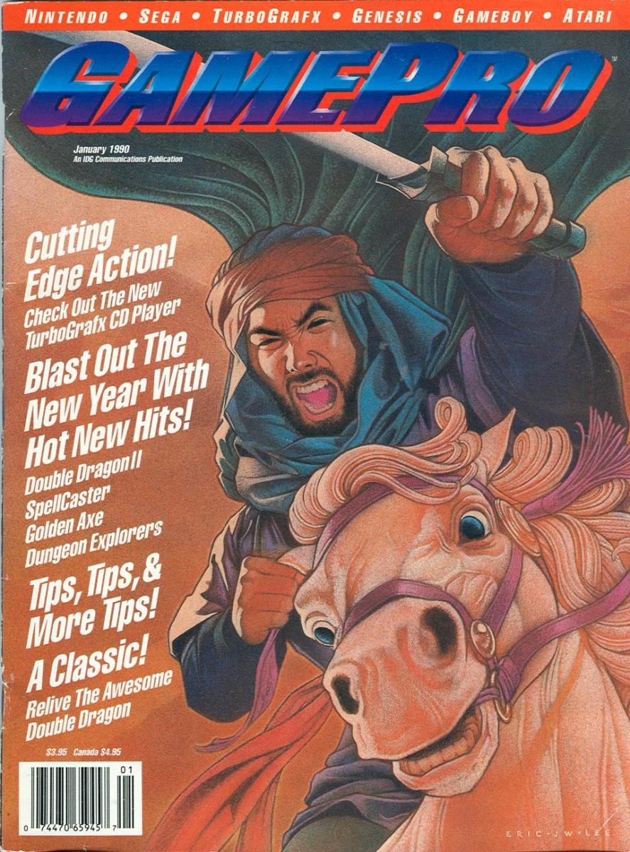 GamePro Issue 006 January 1990