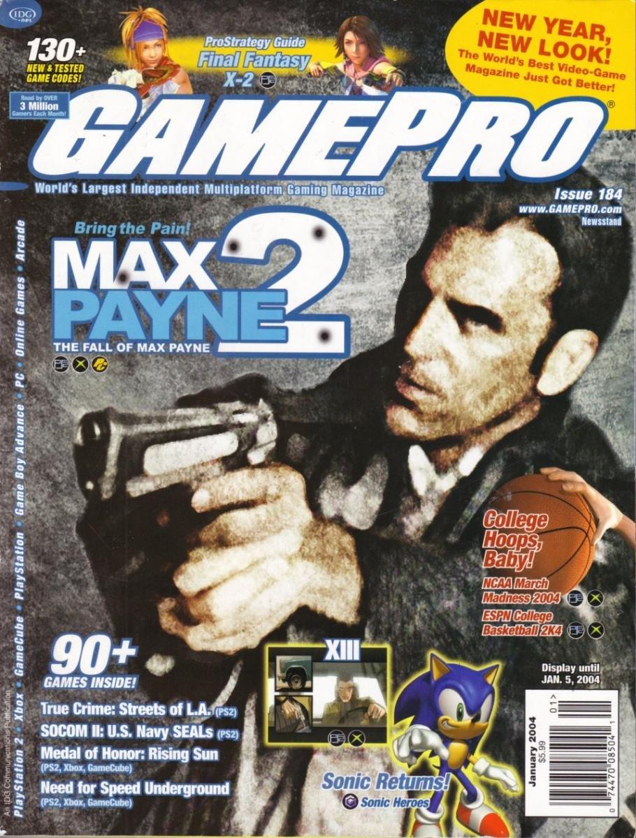 GamePro Issue 184 January 2004