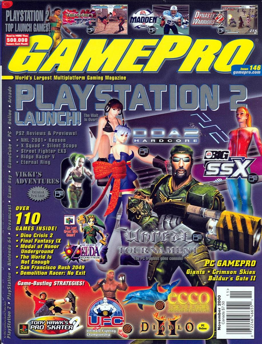 GamePro Issue 146 November 2000