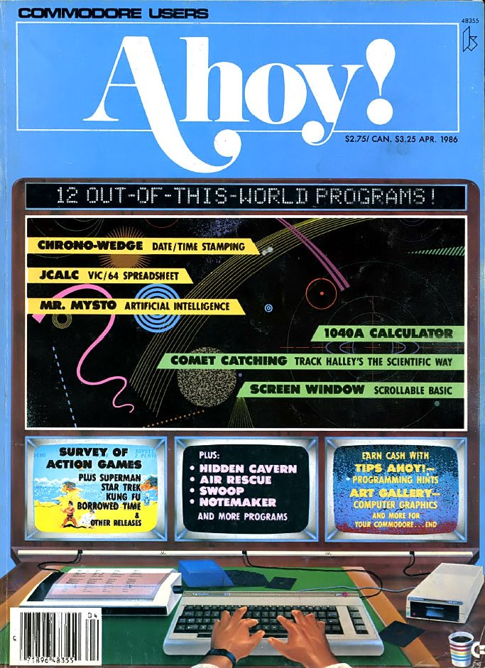 Ahoy! Issue 028 April 1986