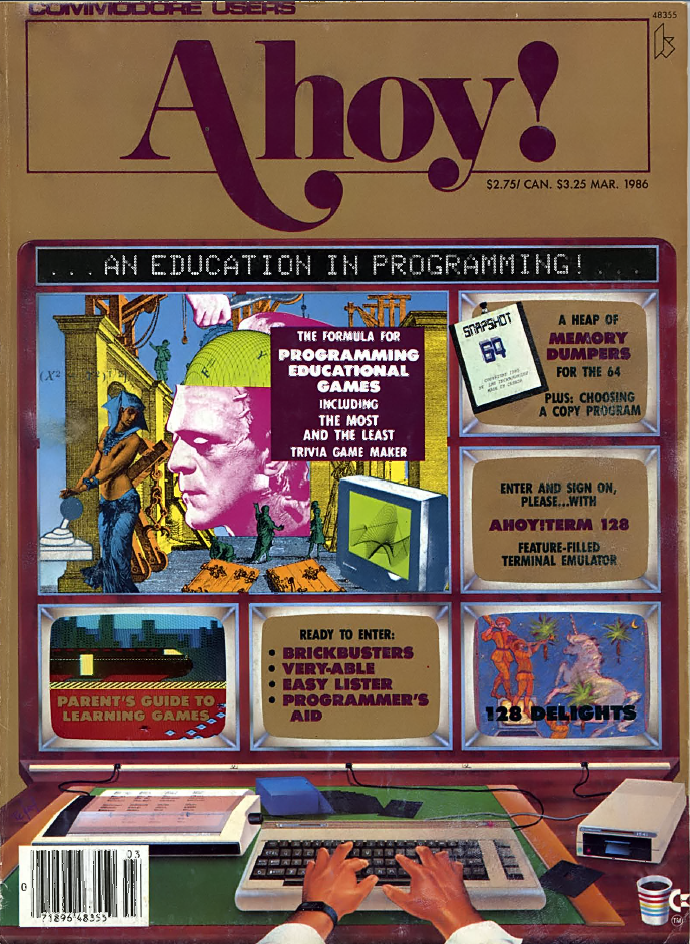 Ahoy! Issue 027 March 1986
