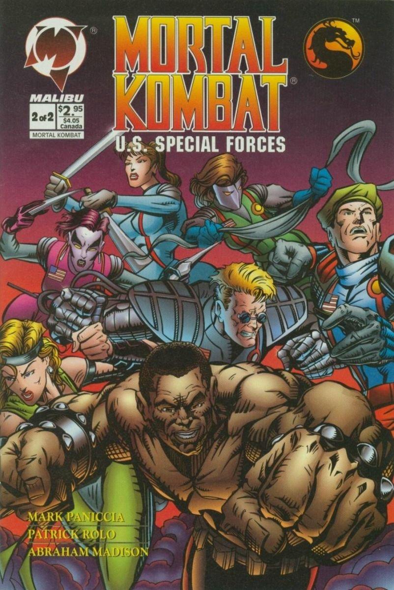 Mortal Kombat U.S. Special Forces #2