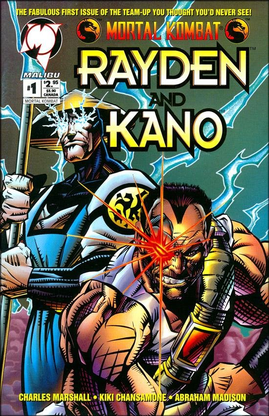 Rayden and Kano #1