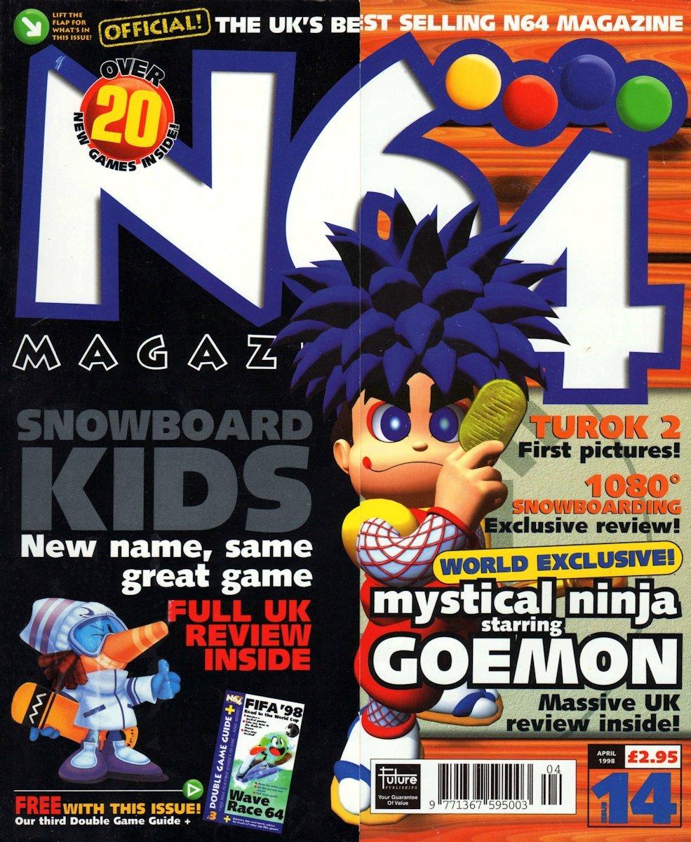 N64 Magazine Issue 14