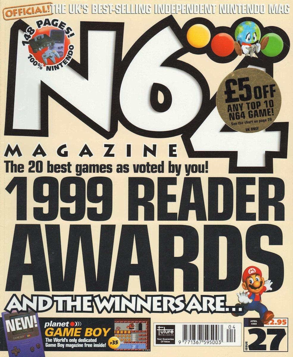 N64 Magazine Issue 27