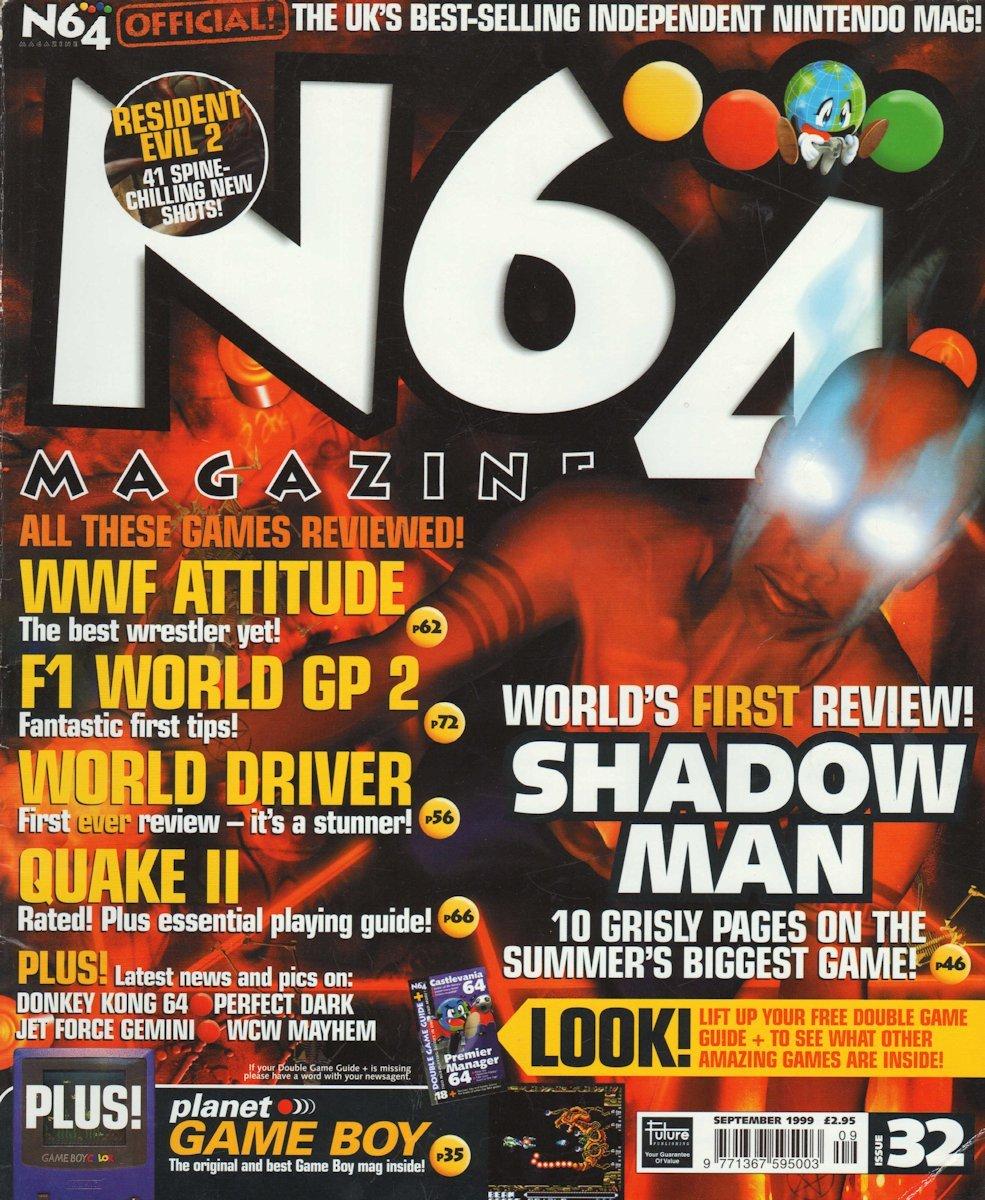 N64 Magazine Issue 32