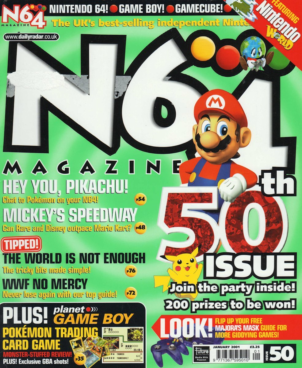 N64 Magazine Issue 50