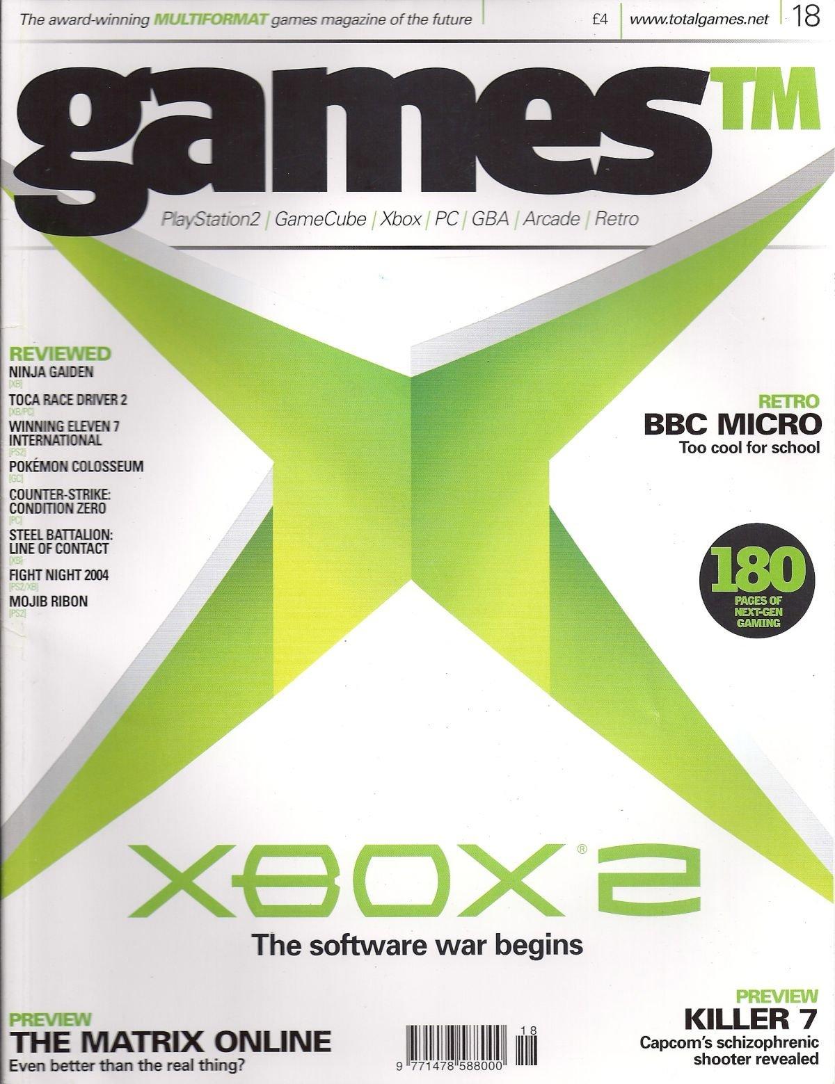 Games TM Issue 018 (April 2004)
