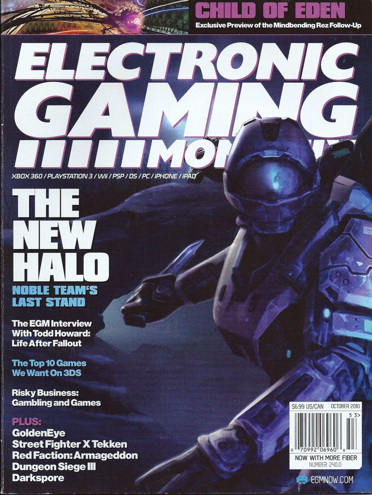 Electronic Gaming Monthly Issue 240 October 2010 Cover 2 of 2