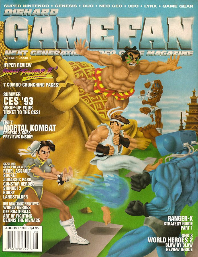 Diehard GameFan Issue 09 August 1993 (Volume 1 Issue 9)