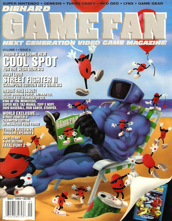 Diehard GameFan Issue 06 May 1993 (Volume 1 Issue 6)