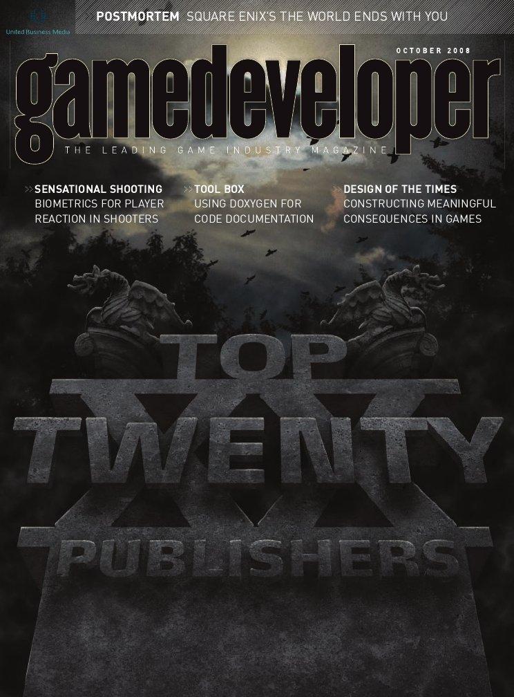 Game Developer 150 Oct 2008