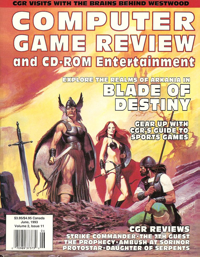 Computer Game Review Issue 23 (June 1993)