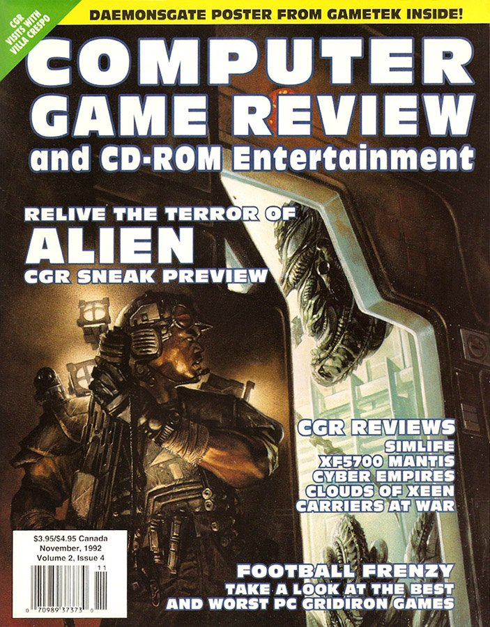 Computer Game Review Issue 16 (November 1992)