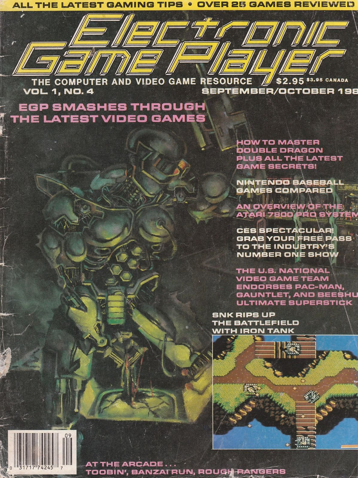 Electronic Game Player Issue 4 - Electronic Game Player
