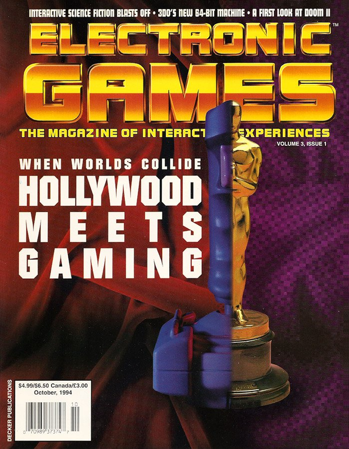 Electronic Games Issue 25 October 1994 (Volume 3 Issue 1)