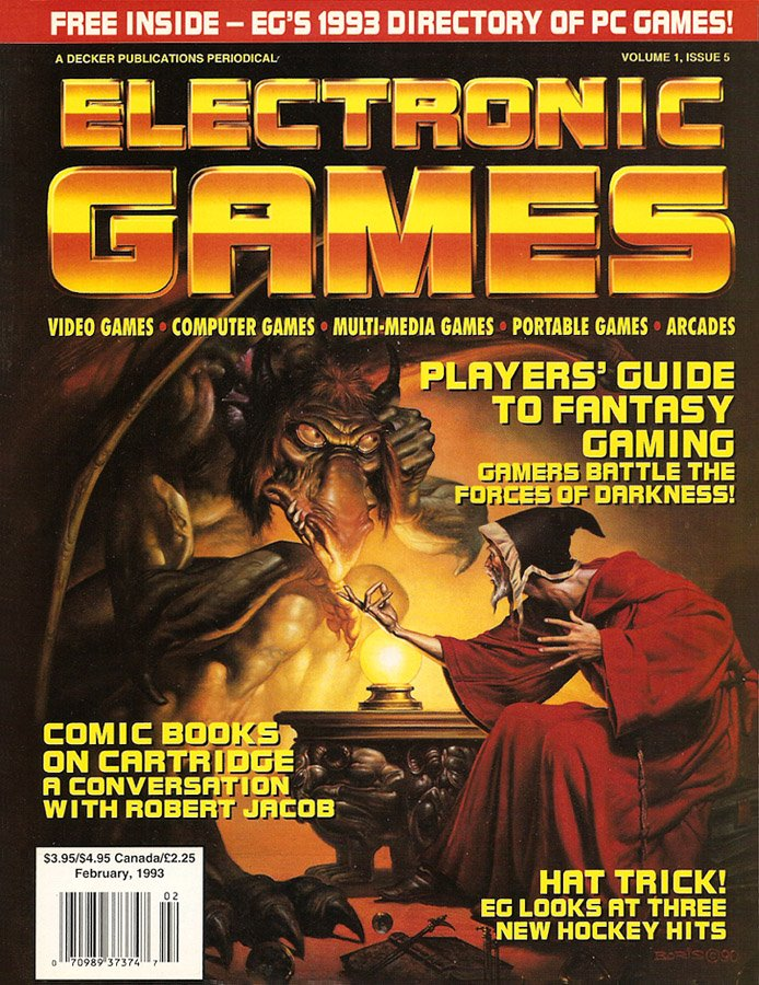 Electronic Games Issue 5 February 1993 (Volume 1 Issue 5)